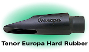 SR Technologies Europa Hard Rubber Tenor Saxophone Mouthpiece