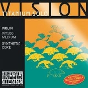 Vision Titanium Solo Violin Strings Set