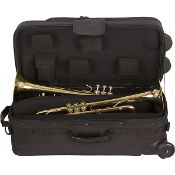 Protec IP301DWL iPAC PRO PAC Single/Double Trumpet Case w/wheels