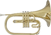 Blessing BM-400 Marching French Horn, gold lacquer