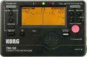 Korg TM50BK Full Feature Tuner/Metronome