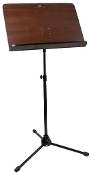 Stagg MUS-A7 BK Wood Orchestral Music Stand w/Folding Legs