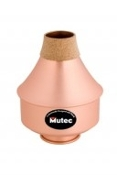 Mutec MHT124 Trumpet Wah-Wah Mute - Large - All Copper