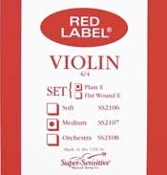 Red Label Strings - Set, Violin
