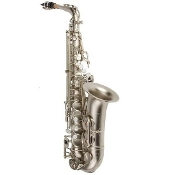 Antigua Power Bell Alto Saxophone - Classic Nickel Finish