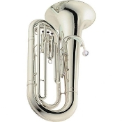 Jupiter 382S Deluxe BBb Tuba [Silver-Plated]