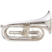 "King ""Ultimate"" Marching Baritone - Large Shank / Silver-Plated"