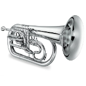 Jupiter Quantum Bb Marching Euphonium [Silver Plated]