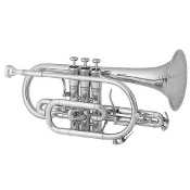 King Legend Cornet [Silver Plated]
