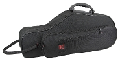Kaces - Lightweight Hardshell Alto Saxophone Case, Black