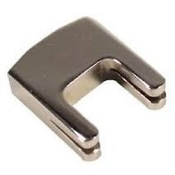 Nickel Plated Heavy Practice Mute for Cello, 2-prong