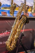 P. Mauriat PMB350GL Bass Saxophone - Gold Lacquer