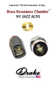 Drake - Brass Resonance Chamber NY Jazz Alto Mouthpiece