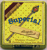 Alexander Superial Bb Clarinet Reeds