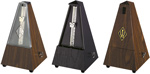 Wittner Plastic Pyramid Simulated Wood Metronomes